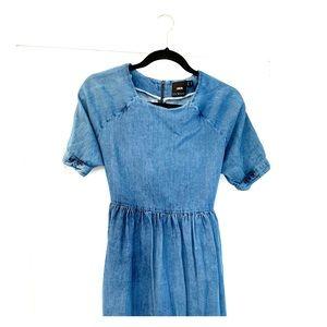 ASOS Denim Maternity Dress